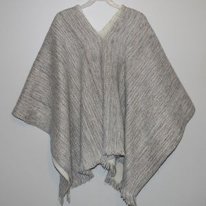 Sweaters - Frayed Shaw Gray/Cream OS